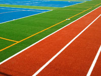 Synthetic Sports Surface