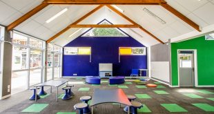 Ellerslie School had problems with the acoustics in its shared learning spaces