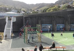 "Lyttelton has a rich history and the school's playing field was once the site of a gaol for ""murderers, lunatics and debtors"""