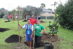 KidsCan is helping low decile schools to plant orchards so they can grow their own food