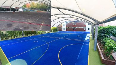 "Photo of CASE STUDY:  Meadowbank School shows ""enormous pride"" in new sports surfacing"