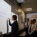 Epson-St Peters school-Student completing maths equation – Copy